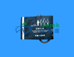 CM1202 children blood pressure cuff 18-26cm [with balloon single tube]